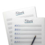 Kuligraphy-worksheets