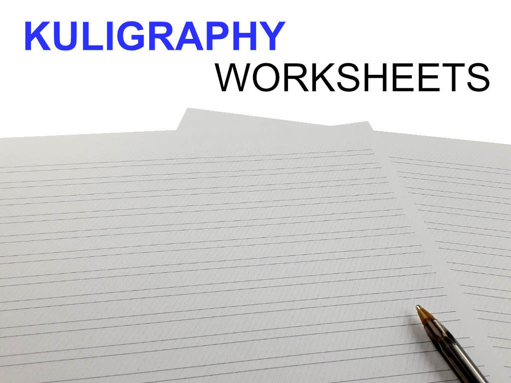 Worksheets-Kuligraphy