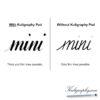 Kuligraphy-pad-comparison
